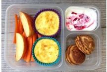 Lunch Box Meals / Ideas for healthy and fun lunches for little ones (or adults)