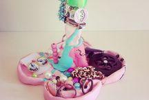 JEWELRY HOLDER UNICORN | ME / Clay. Paint. Unicorn Princess Jewelry Holder.