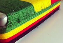 JEWELRY RESORT | ME / Jamaican Resort Inspired Jewelry Holder. Pattern. Fabric. Irie. Jamaica. Raft.