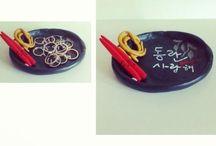 RING HOLDER | ME / 'Korean Noodle Bowl'. Korean Inspired. Ring Holder. Jewelry Holder.