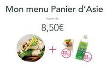 Nos menus / Découvrez nos menus à partir de 8,50€.