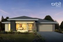 Nubury 26 / The Nubury is another of our new homes with a very striking design. The master bedroom takes a commanding position, looking across the outdoor living area into the expansive family room. That creates a vibrant hub to this deceptively long layout, allowing space for an extra sitting room beside the entrance hall and a self-contained kids' zone at the back