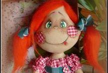 Куклы - Dolls - Muñecas / Текстильная кукла