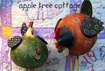 Птицы (папье маше, глина)  -  bird  -  aves / Птицы