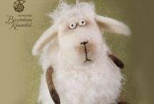 Овцы Коровы - sheeps, сows  - las ovejas, La vacas / Овцы