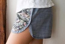 Pants & Shorts | sewing patterns