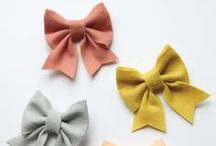 Hair accessories | sewing patterns