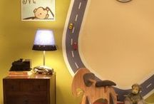 DIY Kid's Room Ideas / Awesome ideas for a kid's room. I'm looking forward to embarking on some woodworking and building projects in the near future!