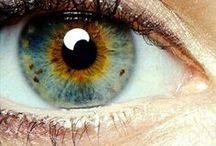 Eyes / Real eyes realize real lies..