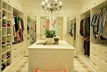 Future walk-in closet / by Kenzi Krause