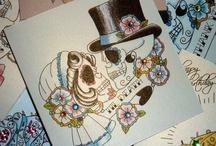 Vickilicious Designs Sugar Skulls