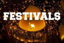 Festivals of the World / A collection of beautiful photography from festivals around the world.