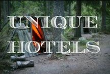Unique Hotels / A collection of photography from the world's most unique hotels.