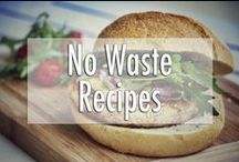 No Waste Recipes / I love food, I hate waste. The challenge I set myself is to reduce my food waste to zero. Here you find inspiration to help you avoid food waste too <3