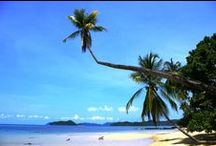 Beaches on Koh Mak and nearby / There are many beautiful beaches on Koh Mak and the neighbor island Koh Kham and Koh Rayang (1km away). The two best beaches are Ao Kao and Ao Suan Yai, both are just a few walking minutes away from the Good Time Resort.