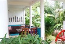 Thai Villa Ginger / Thai Villa Ginger: Two floor, two bedrooms, two terraces, a pavilion and a tropical garden arround...