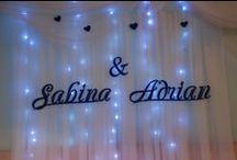 imiona ,inicjały  wesele dekoracja / www.rena24.eu Przyjmujemy zamówienia!!!!!