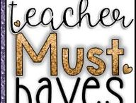 *****Teacher Must-Haves / Must Have products for Teachers!