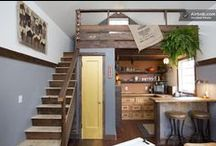 Small Spaces with Big Style / A collection of design solutions and ideas for small spaces.