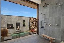 Bathroom Design Ideas / A collection of interior design images, tips and ideas for creating your dream home bathroom.