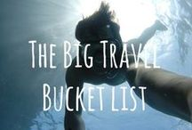 The Big Travel Bucket List / The Big Bucket List group board. Pinning and repinning the ultimate travel bucket list. To join the group please comment below or contact us at info@yettio.com. Please only pin vertical images.   Those that pin unrelated content or spam will be removed from the group board ;)  / by Yettio Travel Magazine