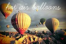 Hot Air Ballooning / A collection of the best hot air balloon photography from around the web.