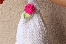 Knitting bags / Inspirations for little purses, bags, wristlets
