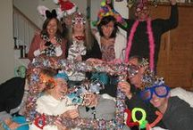 The Pipe Cleaner Lady's Props / Fun props that you can play dress up with if you have Wendy The Pipe Cleaner Lady at your party!