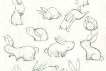 Animações / Painel de referências de animações.