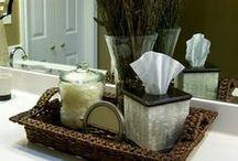 Bathroom Basket Decor Ideas / by Kara Hassell