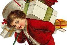 Vintage Christmas Illustrations / Vintage Christmas Illustrations