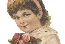 Victorian Scraps and Die Cuts / Victorian Scraps and Die Cuts for Paper Crafts