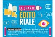 Charte éditoriale / Ligne éditoriale / #charteeditoriale #ligneeditoriale #calendriereditorial #blog #tips #infographie