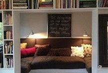 Homey / Home decoration, library, bunk bed, etc
