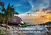 #SanyaHeartstoHearts / It's not called the Oriental Hawaii for nothing. The city of Sanya on China's Hainan Island is renowned for its hospitality and tropical climate. Join the @visitsanya #SanyaHeartstoHearts campaign to win a trip to China. Visit: bit.ly/29PxmvH