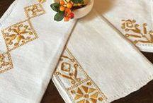 EmptyingTheAttic.etsy.com /  Vintage Embroidery  Vintage Doilies  Vintage Linens