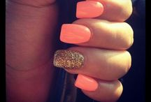 Nails / Bright summer nails