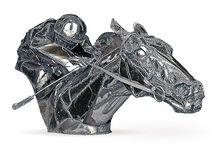 Horse Sculpture / Rzeźby koni w różnej technice