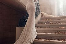 W E D D I N G  - B R I D E / Wedding dress, bouquet, head piece, jewelry, shoes for the big day