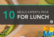 Next Healthiest Bagged Lunch / Bringing your lunch is a great #nexthealthieststep to incorporate into your life! Those who bring their lunch have more control over the type of and portions of food that they eat. They also save money! Check out this board for ideas on simple and fast meals you could bring to work with you this week.