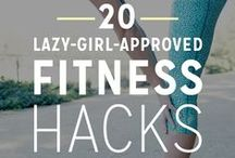 Health Hack / See this as your guide to sneaking in workouts and healthy habits into your busy life without having to drive to the gym.