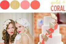 W E D D I N G  T H E M E S / Wedding Colors and Themes