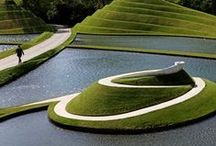 Green spaces & Land art