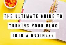 Blogging & Entrepreneurship Tips for Food Bloggers / Articles about blogging, entrepreneurship and business advice that's perfect for food bloggers.