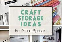 Storage Ideas Around The House / Cool ideas for storage, ideal for any size house.. We liked them enough to share!!