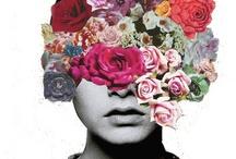 inspiración Belia Celinda / escanear y recolectar objetos para formar una serie de collages para belia celinda