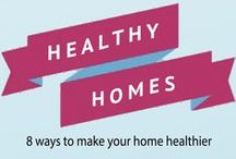 Healthy Homes / Tips and suggestions for making your home healthier for you and your family. You will find green cleaning recipes, childproof checklist and more.  www.ugagreenway.org