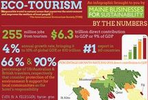 Ecotourism / Ideas for vacations that reduce the impact on your budget and the environment.