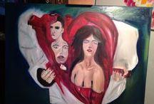 Lele&Bri / oil paint