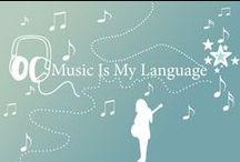 """♥Music is the art of the soul♥ / """"La musica è la stenografia dell'emozione."""" Leo Tolstoy"""